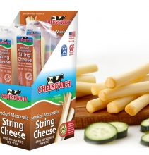 Cheesewich Smoked & Regular Mozz Sticks in Box Comp