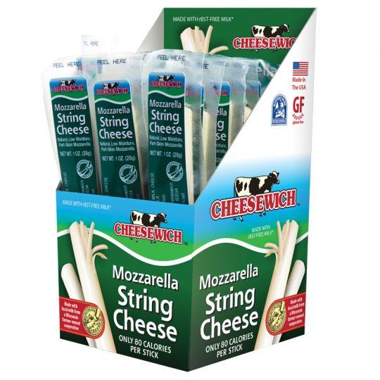 Cheesewich™ regular flavor string cheese.