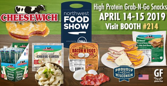 Northwest Food Show Visit Cheesewich™ at Booth 214 April 14-15th