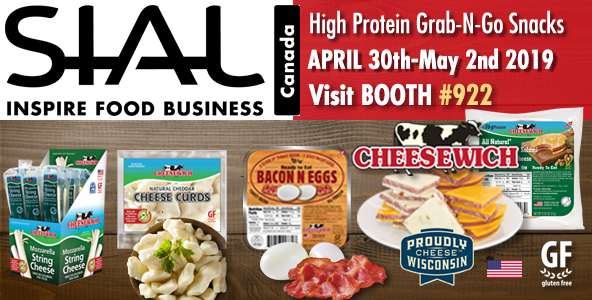 SIAL Canada International Food Show | Cheesewich Factory Booth 922