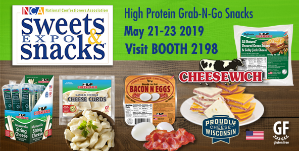 Sweets & Snack Expo 2019 | Taste Our Award Winning Cheese & Salami, Bacon N Egg, and New Offerings at Booth 2198
