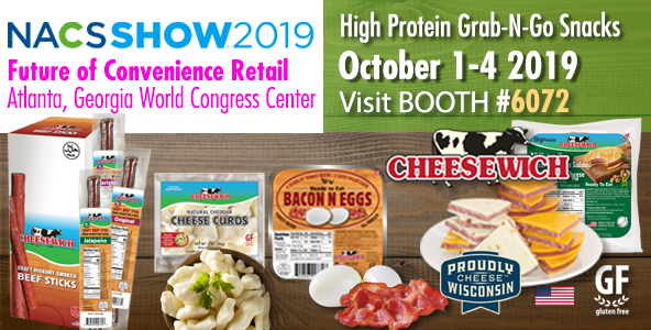 NACS SHOW 2019 Booth 6072